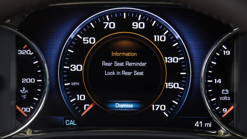 GMC Acadia - Rear Seat Reminder