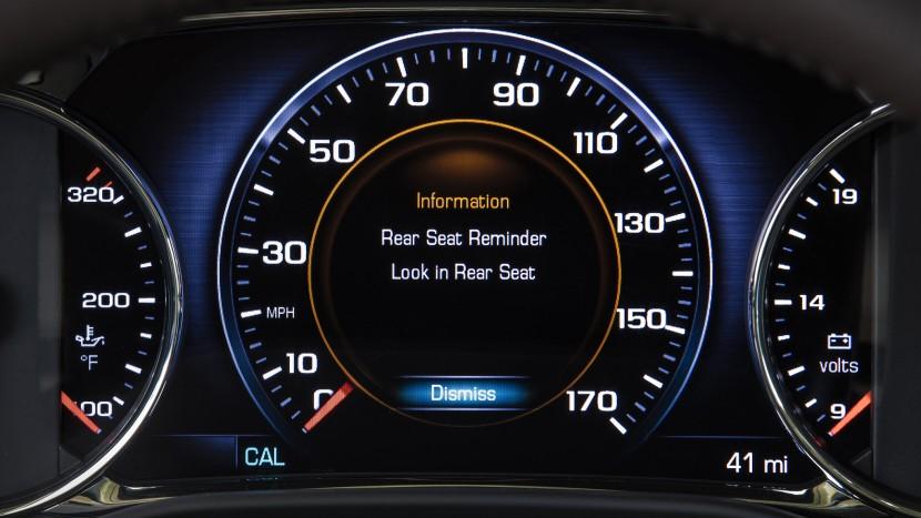 GMC Acadia - Rear Seat Reminder