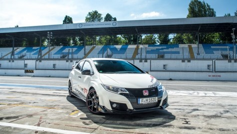 Honda Civic Type R – recorduri pe circuitele europene
