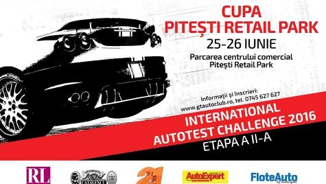 International Autotest Challenge ajunge la Pitești