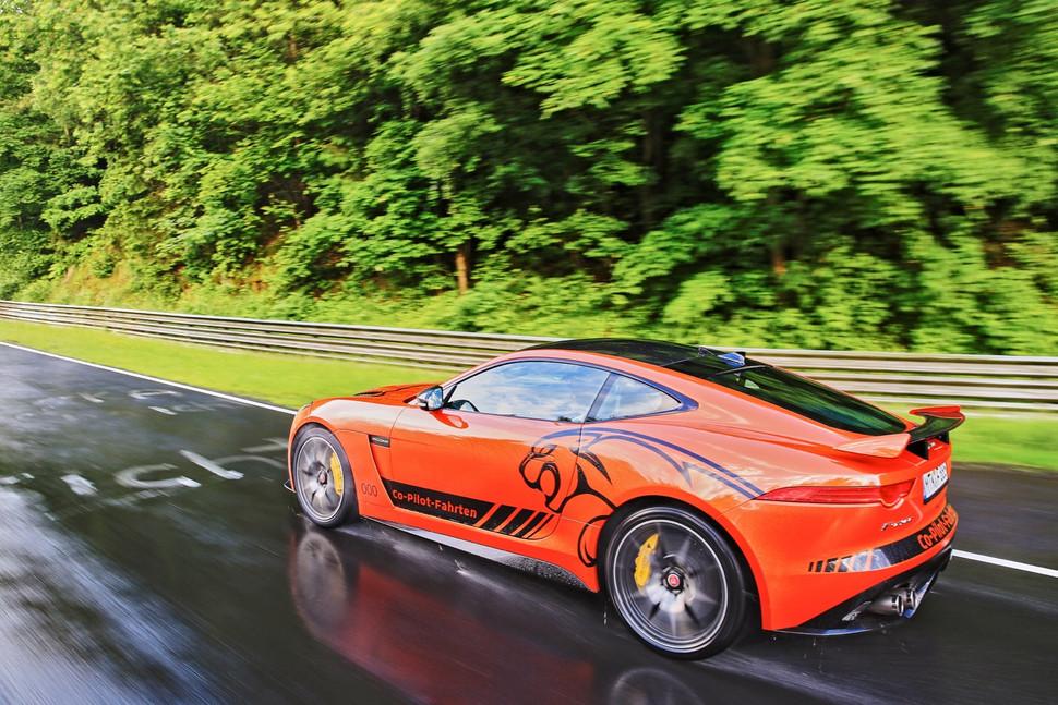 Jaguar F-Type SVR Nurburgring