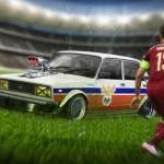 Lada 2107 - Rusia Euro 2016