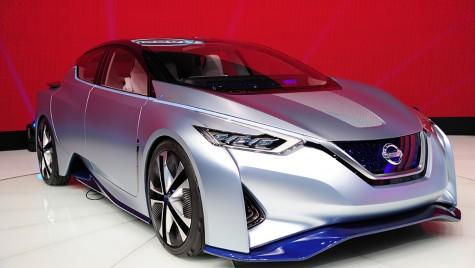 Viitorul Nissan Leaf: 550 km autonomie!