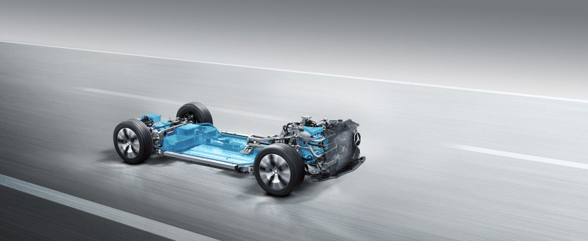 Noua platforma Mercedes electric