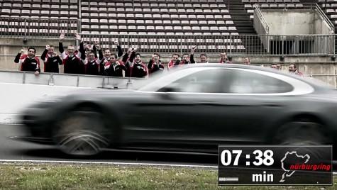 Porsche Panamera pe Nordschleife: cel mai rapid tur!