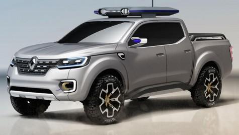 Renault Alaskan va fi prezentat oficial pe 30 iunie
