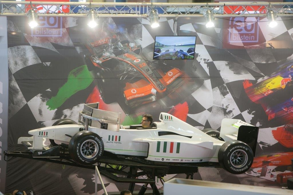 Simulatorul F1 Auto Total Business Show