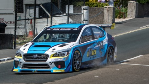 Subaru Impreza WRX STI, record pe Isle of Man: video oficial!