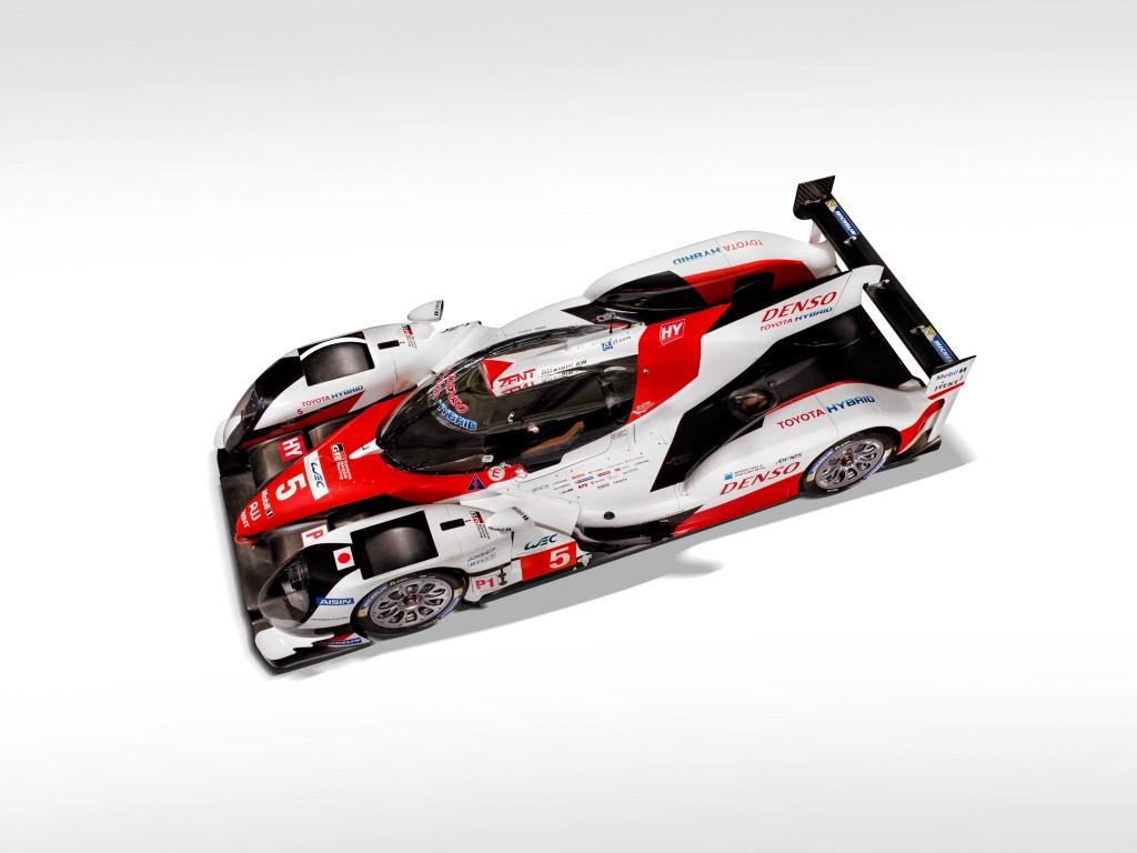 Toyota Hybrid Le Mans 2016 WEC
