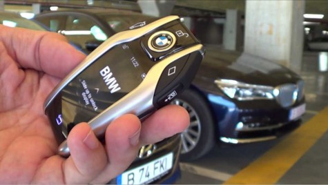 BMW Remote Parking – Cum parchezi de la distanță noul Seria 7