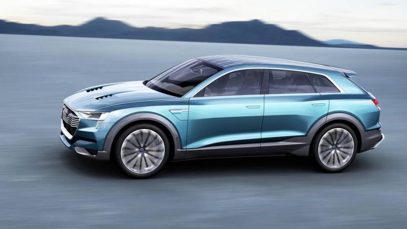 Audi Q8 e-tron quattro concept