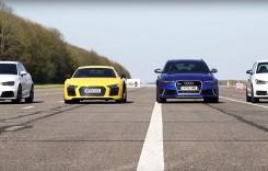 Cel mai interesant test comparativ din gama Audi RS!