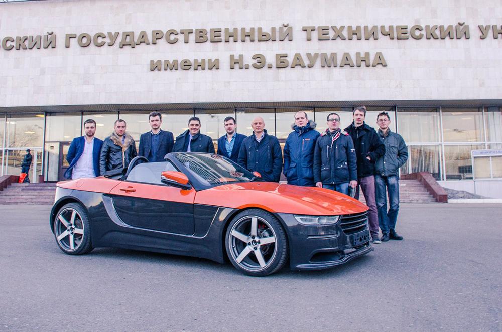 Crimea roadster rusesc