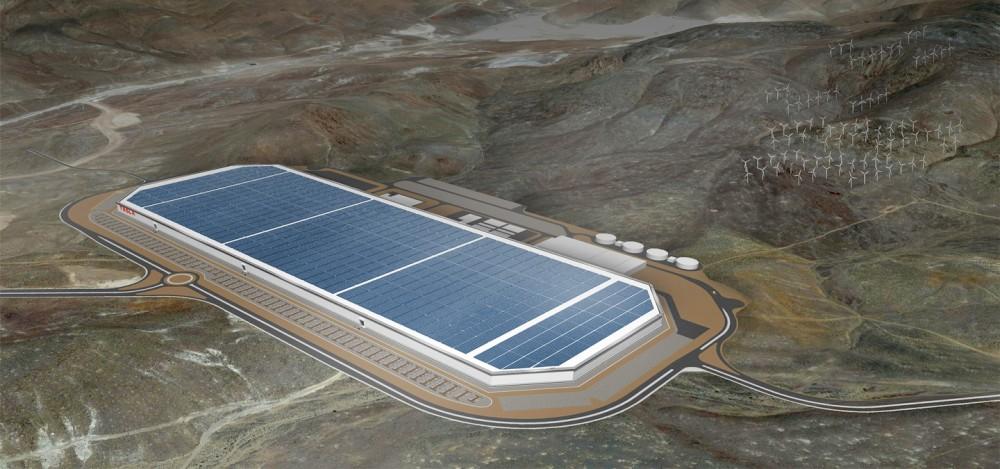 Gigafactory - planurile Tesla