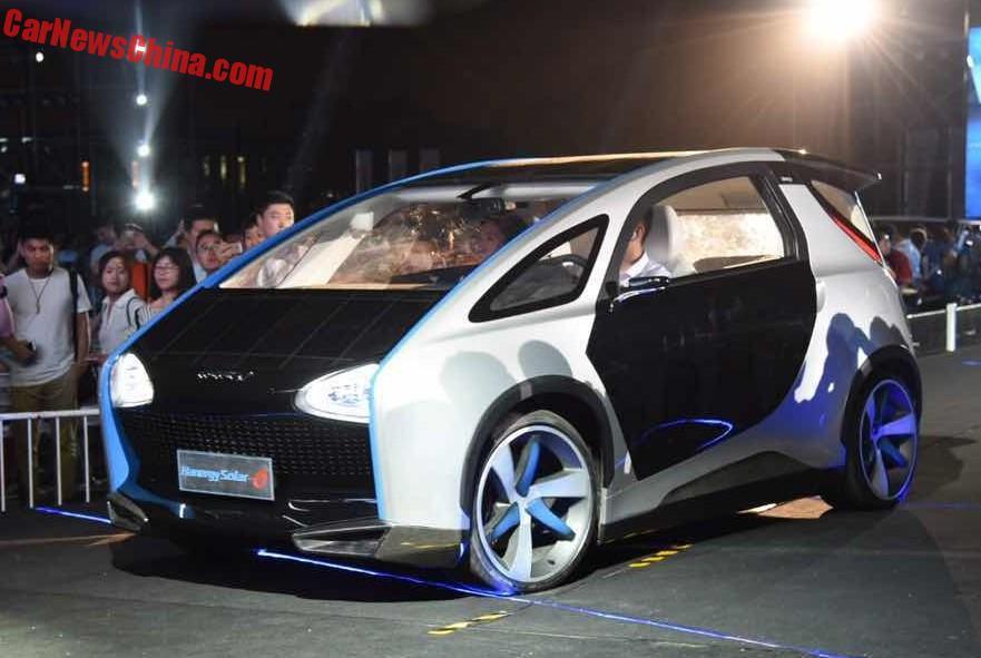 Hanergy Solar mașinile solare