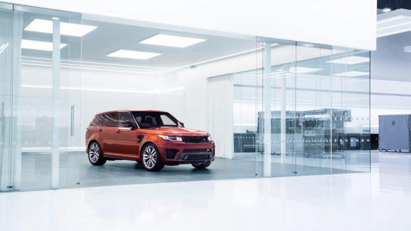 Jaguar Land Rover SVO - fabrica noua