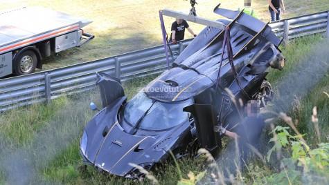 Koenigsegg One:1 făcut zob pe Nurburgring