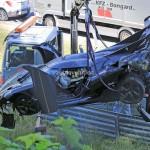 Koenigsegg One:1 accident Nurburgring