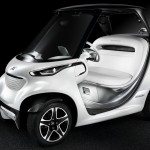 Mercedes Garia Golf Car