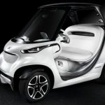 Mercedes Garia Golf Car
