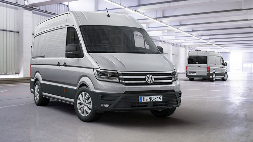 Noul VW Crafter