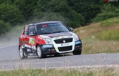 Szabo Csongor, victorios în Cupa Suzuki la Transilvania Rally