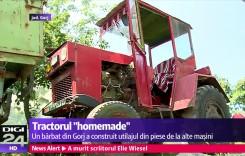 Hotrod agricol: tractor cu motor Mercedes, asamblat în bucătărie!