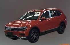 VW Tiguan XL spionat în China