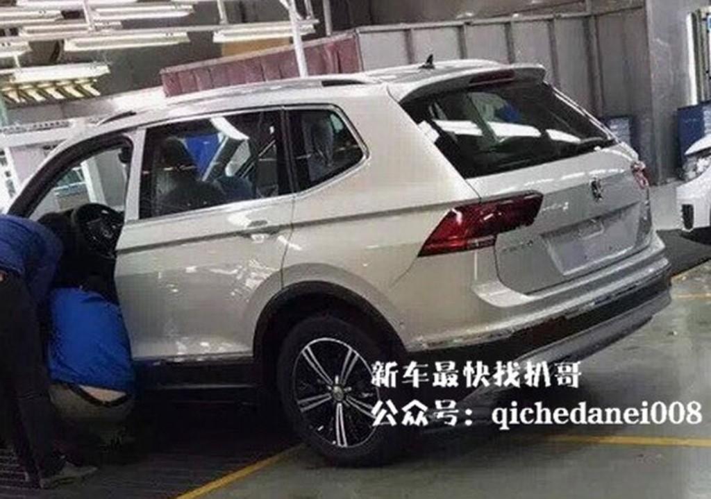 VW Tiguan XL spionat