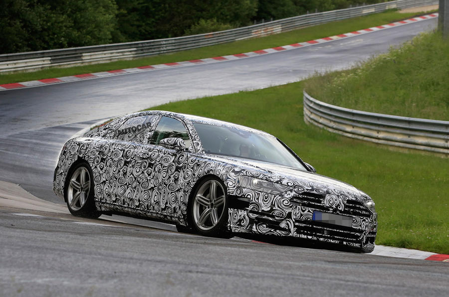 Viitorul Audi A8 spion