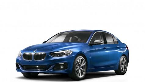 BMW Seria 1 Sedan dezvăluit – prima imagine oficială