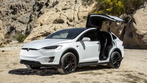 Test – Tesla Model X P90D Performance