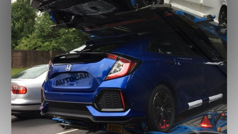 2017 Honda Civic: iat-o fără camuflaj!