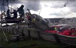 Cameraman accidentat de o mașină din BTCC (video)