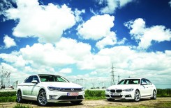 Test comparativ BMW 330e vs. VW Passat GTE