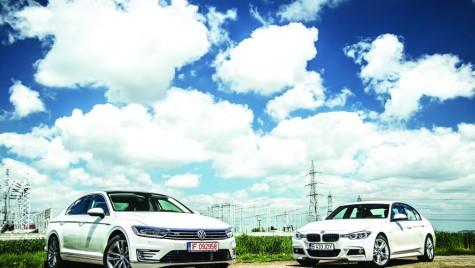 Test comparativ BMW 330e vs. VW Passat GTE