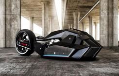BMW Titan: motocicleta lui Robocop