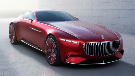 Vision Mercedes-Maybach 6 Coupe dezvăluit oficial