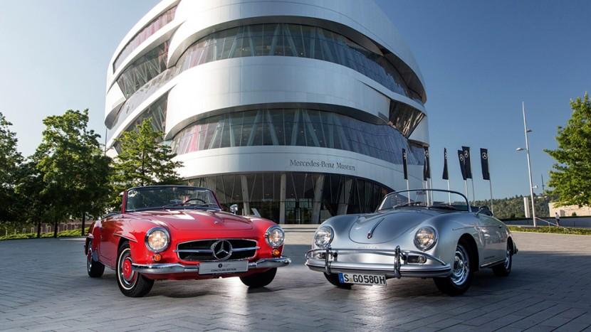 Mercedes si Porsche discount bilete muzeu