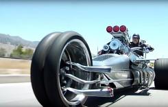 Rocket II, triciclul de 1000 CP!