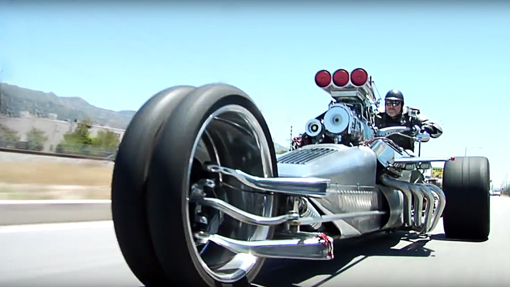 Rocket II Trike triciclu