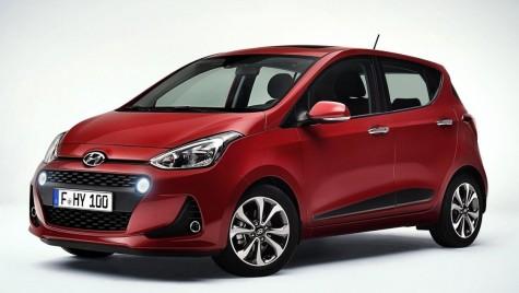 Facelift și noi sisteme de asistență pentru Hyundai i10