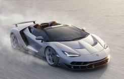 Lamborghini Centenario Roadster: 770 CP și 2 milioane de euro