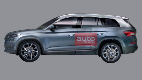 PRIMA IMAGINE OFICIALĂ cu noul SUV Skoda Kodiaq
