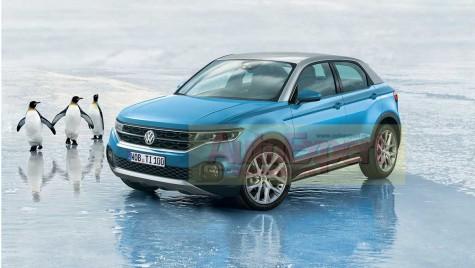 PROIECTE SECRETE: VW Polo SUV, fratele mai mic al lui Tiguan