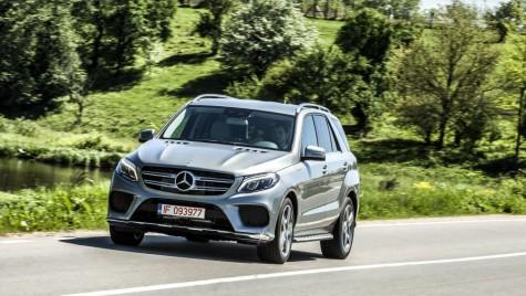 Test drive Mercedes GLE 500 e: ecologist în frac