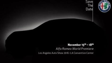 Alfa Romeo Stelvio va fi prezentat pe 15 noiembrie