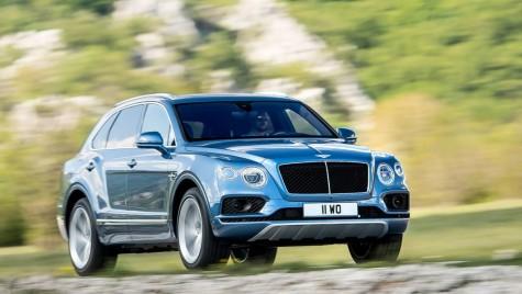 Bentley Bentayga Diesel: 435 CP pentru cel mai rapid SUV diesel de lux