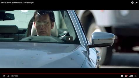 The Escape: Vezi scurtmetrajul intens cu noul BMW Seria 5