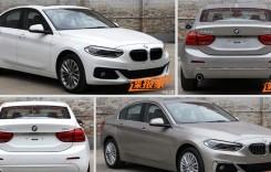 BMW Seria 1 Sedan – noi imagini cu limuzina compactă